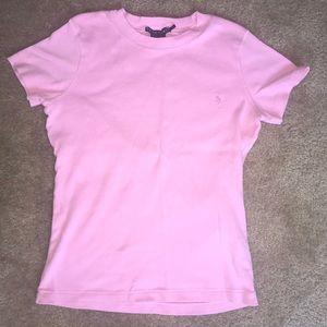 Ralph Lauren Pink Tee Shirt